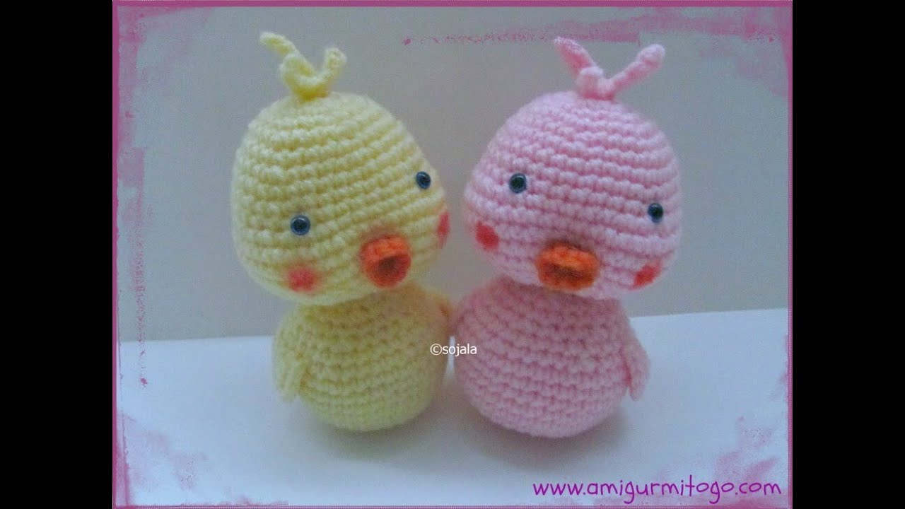 How To Crochet A Duck - YouTube