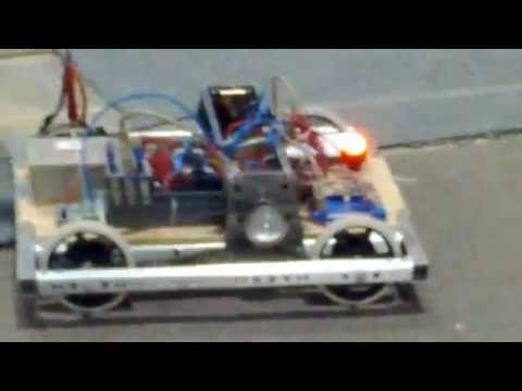 FIRST FRC 2013 Ultimate Ascent: Driving base test - Arizona Community Robotics 1492