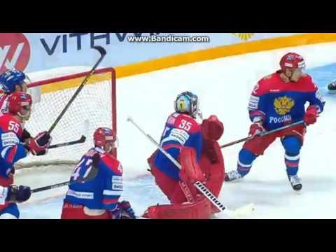 НАРЕЗКА МОМЕНТОВ Хоккей Россия Чехия 20 12 2015 4-3