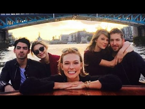 Taylor Swift & Calvin Harris Get Cozy On a Boat w/ Joe Jonas, Gigi Hadid & Karlie Kloss!