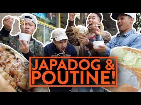 JAPANESE HOTDOGS AND POUTINE FRIES IN CANADA - Fung Bros Food