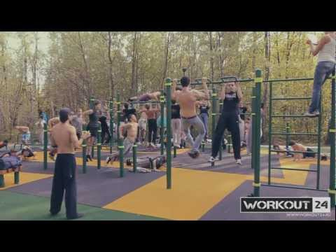 GW/SW WORKOUT24. Moscow. 2012. Оpening  of a new workout training ground
