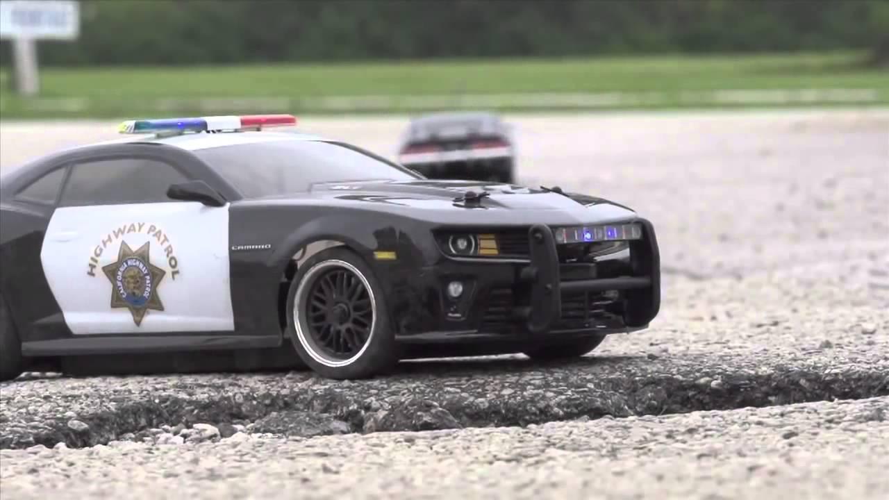 Vaterra Rc 2012 California Highway Patrol Camaro Zl1 Youtube