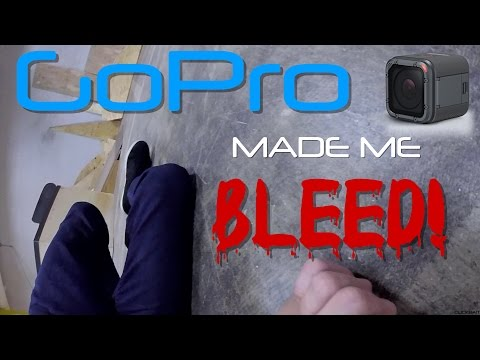 GoPro Made Me Bleed!  First Person Friday