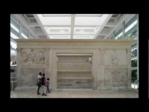 Ara Pacis Augustae (Altar of Augustan Peace), 13-9 B.C.E. (Rome)