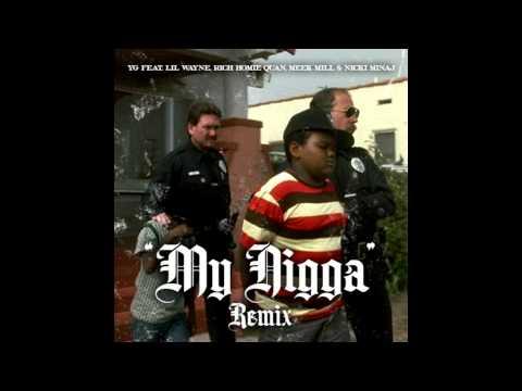 Yg-my Nigga Remix Screwed & Chopped By djartillerytx video