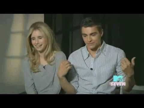 Exclusive Interview w/ Dave Franco & Emma Roberts on 'Go Outside' video