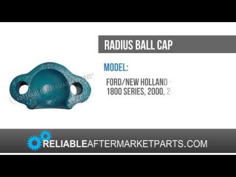 E0NN3N406BA New Ford Radius Ball Cap 600 800 900 2000 3000 4000 2N 8N 9N NAA +