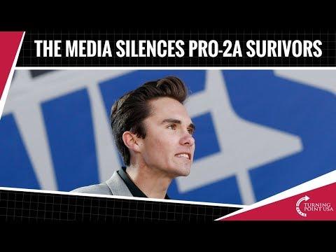 Charlie Kirk: The Media Silences Pro-2a Survivors