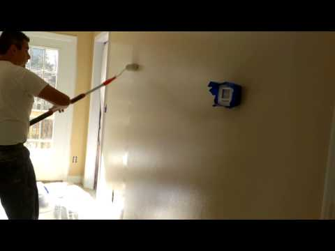How to paint interior walls fast!!!