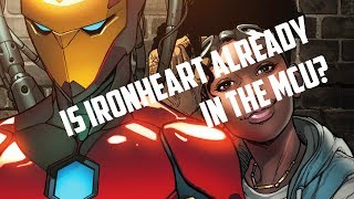 IS IRONHEART ALREADY IN THE MCU?