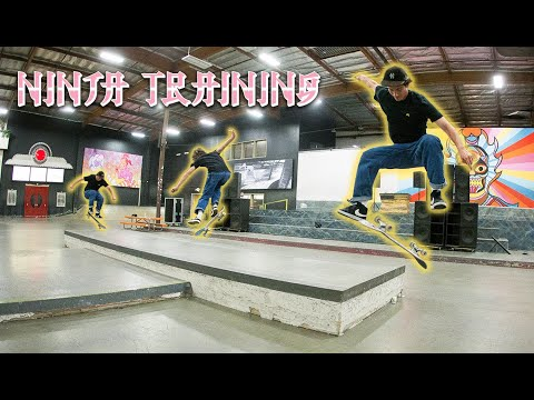 Who's Got The Quickest French Flick?! | Ninja Training