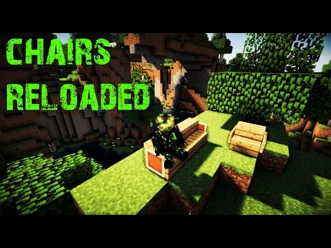 Chairs Reloaded - Stühle in Minecraft   Bukkit Plugin 1.7 - 1.9   Windows   FullHD/German
