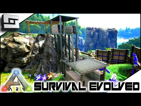 ARK: Survival Evolved - METAL BASE EXPANSION! S2E57 ( Gameplay )