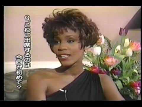 Rare! Interview & Speech American Cinema Awards 1991 Whitney Houston