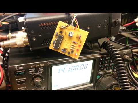 M1GEO Icom IC7000 Roger Beep Module
