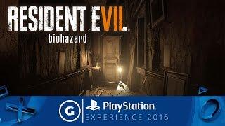 Reisdent Evil 7: Biohazard PSX 2016 Trailer
