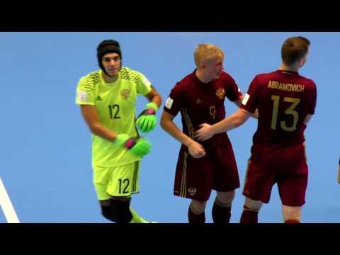Россия - Вьетнам, 1/8 финала Чемпионата мира по мини-футболу в Колумбии 2016