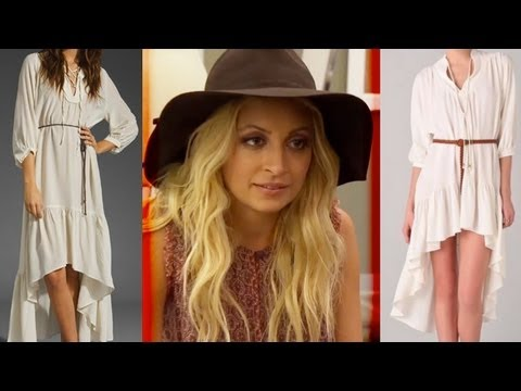 Nicole Richie Stealing Dress Designs?!