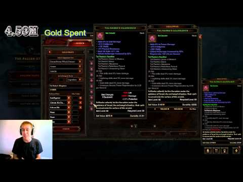 Legendary Witch Doctor Gearing Guide For 10 Million - Diablo 3 Patch 1.0.8 - Americas