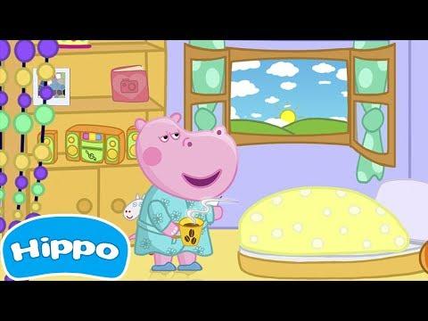 Гиппо 🌼 Детские истории 🌼 Доброе утро 🌼 Мультик игра для детей (Hippo)