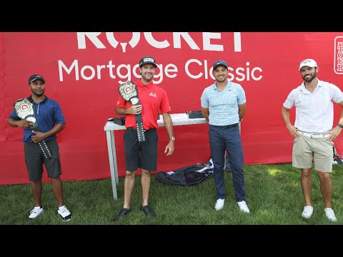 HVIII and Bubba vs. Jason Day and Wesley Bryan at Rocket Mortgage