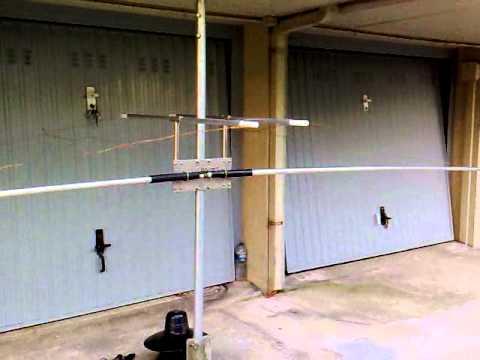 Ham Radio Antenna Mustang 40 001 Mp4 Youtube