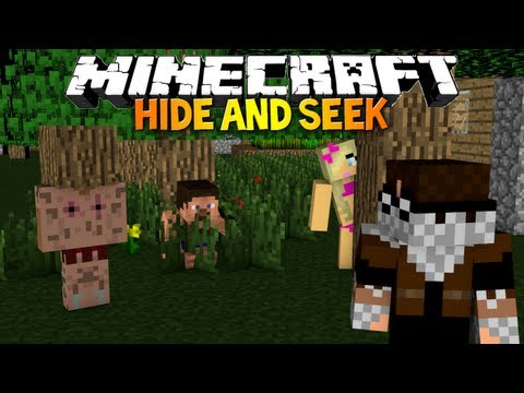 Minecraft: HIDE AND SEEK! - A Lonely Wood Block (1.6.2 Mini-Game)
