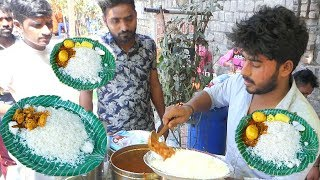 Cheapest Roadside Unlimited Meals | Indian Street food | Journey For Food