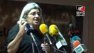 ليلى سويف فى مؤتمر الحرية للجدعان: نحتاج حكمة أحمد سيف فى تفهم المواقف المختلفة