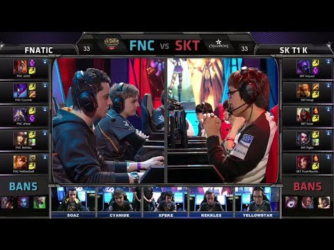 Fnatic vs SK Telecom T1 K | All-Star 2014 Invitational Group Stage Day 2 | FNC vs SKT T1 K