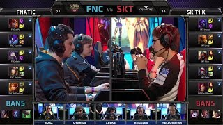 Fnatic vs SK Telecom T1 K   All-Star 2014 Invitational Group Stage Day 2   FNC vs SKT T1 K