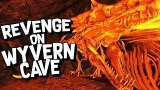 ARK Survival Evolved Ep #48 - REVENGE on WYVERN CAVE! (Modded Survival)