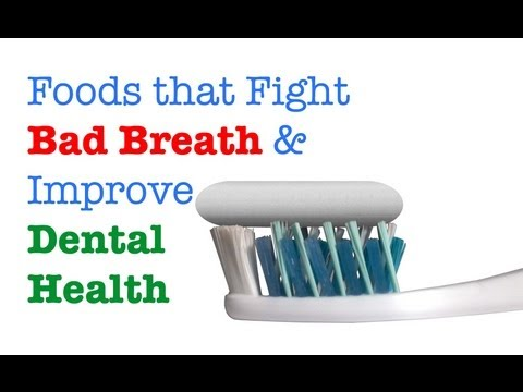 Foods that Fight Bad Breath & Improve Dental Health (Includes Smoothie Recipe!)