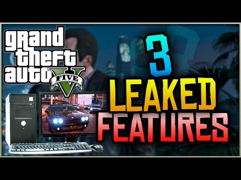 GTA 5 PC - 3 NEW Leaked Features Found in GTA 5 PC!