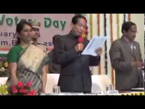 ODISHA- National Voters' Day, 2014 Celebration