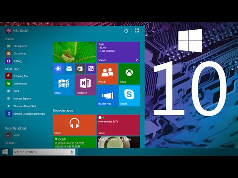 Windows 10 Demo (Technical Preview, Build 9926) #ComputerClan
