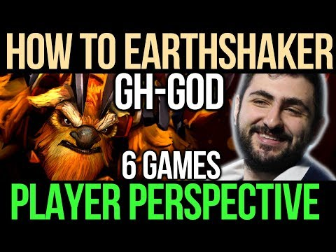 GH Earthshaker [POV] How to play Support Earthshaker - TI7 Compilation