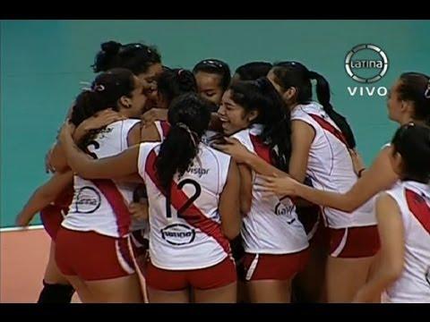 Perú vs Chile - Voley - Copa Pre Sudamericana de Menores - Lima
