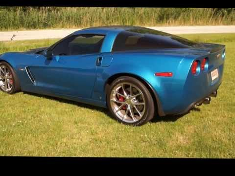 Z06 Corvette Monster Cam and Super Mean Exhaust