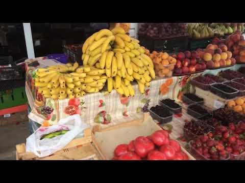 Рынок в Сочи! Где дёшево купить фрукты и овощи?!