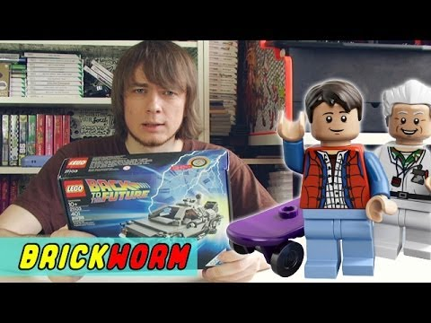 LEGO The DeLorean Time Machine - Brickworm
