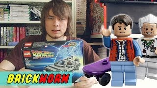 LEGO The DeLorean Time Machine - Brickworm