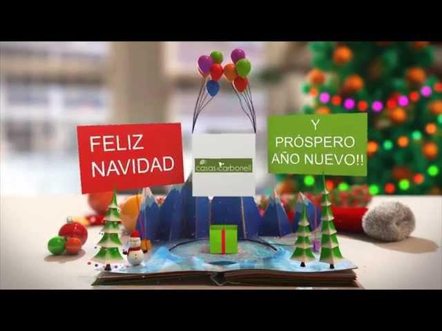 Casas Carbonell les desea Feliz Navidad y próspero año nuevo
