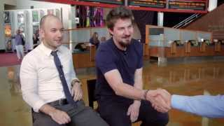 """ArcLight Stories - """"The Guest"""" Featurette with Adam Wingard and Simon Barrett"""