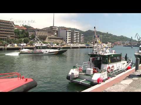 Inauguración del Servicio Marítimo Provincial de Guipúzcoa