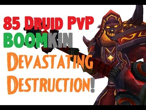 Asterial - Level 85 Balance Druid Twink Pvp - Mop Patch 5.4.8 video