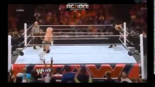 WWE- Roman Reigns- Spear & Superman Punch