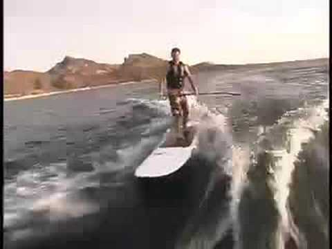 Hobie Stand up Paddle board Wakesurf Video