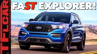 Breaking News: 2020 Ford Explorer ST Revealed - Does It Deserve The ST Badge?